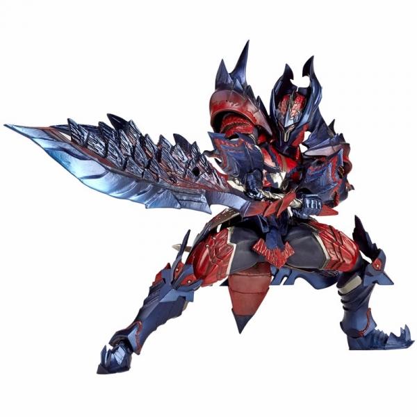 KAIYODO / Vulcanlog / 019 / 魔物獵人 / 男劍士 / DINO / 斬龍裝